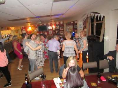 Party picture at Whitburn Cricket Club