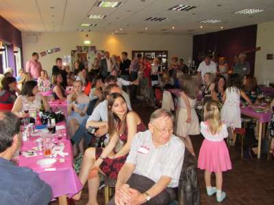 Party picture at Boldon Cricket Club